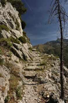 Madone d'Utelle - Wandern im Hinterland der Côte d'Azur - Foto: © Wolfram Mikuteit