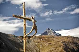 beim Verlassen der mechanischen Aufstiegshilfe - Foto: © Wolfram Mikuteit