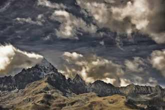 bei Pian da Charm, 1.635 m - Foto: © Wolfram Mikuteit