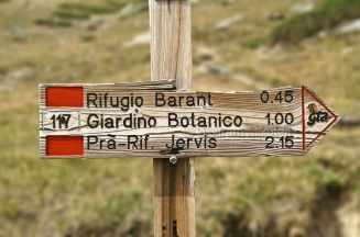 während des Aufstriegs vom Rifugio Barbara Lowrie zum Rifugio Barant - Foto: © Wolfram Mikuteit