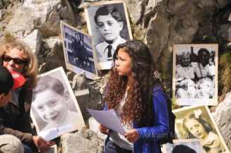 bei der Gedenkveranstaltung wurden die Namen der Kinder, die diesen Exodus miterleben mussten, verlesen - Foto: © Wolfram Mikuteit