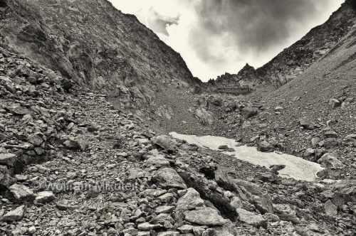 Colle di Finestra, 2.474 m - Fluchtweg über die Seealpen - Foto: © Wolfram Mikuteit