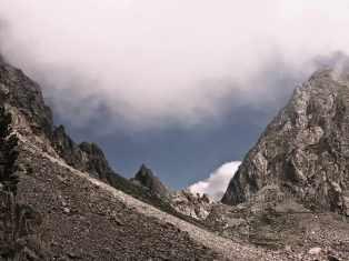 Colle di Finestra, franz. Seite, 2.474 m - Foto: © Wolfram Mikuteit