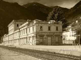 Bahnhof St. Dalmas de Tende - Foto: © Sabine Bade