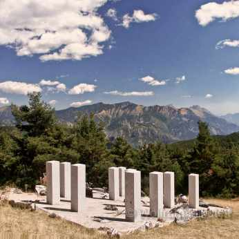 Liberator's Monument, Plateau de la Céva - Foto: © Wolfram Mikuteit