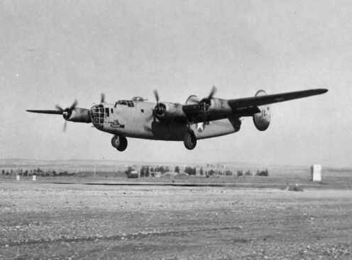 Liberator B24 - Foto / Author: United States Army Air Forces, USGOV-PD
