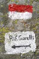 hier geht's lang zum Rifugio Garelli - Foto: © Wolfram Mikuteit