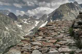 Via Alpina - zw. Rif. Malinvern und Rif. Questa - Foto: © Wolfram Mikuteit
