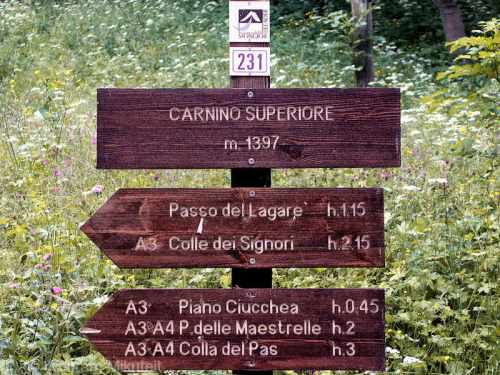 Carnino Superiore - Foto: © Wolfram Mikuteit
