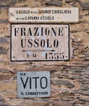 Ussolo - 1.355 m - Foto: © Wolfram Mikuteit
