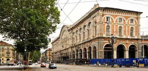 Turin - Hauptbahnhof, Foto: © Wolfram Mikuteit