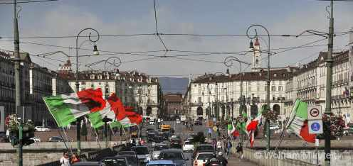 Turin - Piazza Vittorio Veneto, Foto: © Wolfram Mikuteit