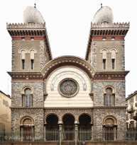 Turin - Synagoge, Foto: © Wolfram Mikuteit