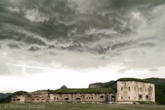 Fort Central am Col de Tende - Foto: © Wolfram Mikuteit