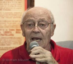 Armand Oliviero, Lokalhistoriker - Foto: © Wolfram Mikuteit