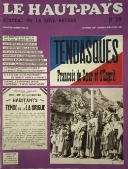 Le Haut-Pays N° 39, Oktober 1997, zum 50. Jahrestag des Rattachements