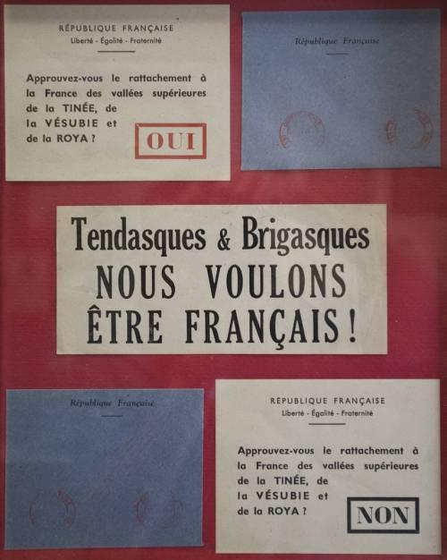 JA oder NEIN - Stimmzettel - Kollektion Armand Oliviero